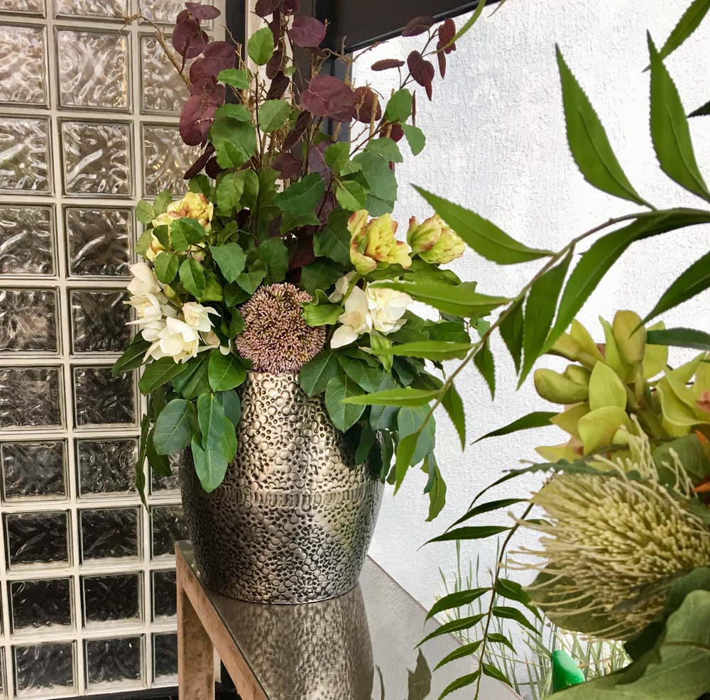 Silk flowers melbourne buds to blooms silk flower hire geelong office flowers event floral arrangement silk flower hire melbourne mightylinksfo